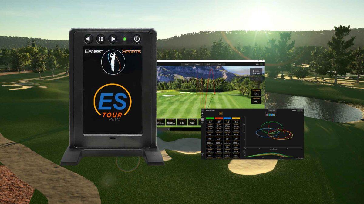 ES Tour Plus Launch Monitor