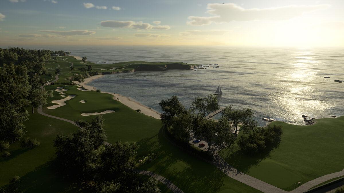 Pebble Beach Golf Course, California
