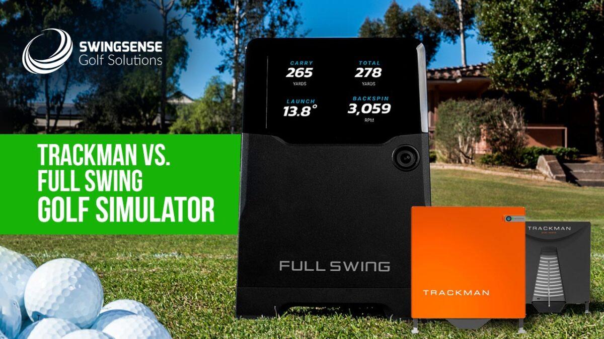 TrackMan vs Full Swing Golf Simulator