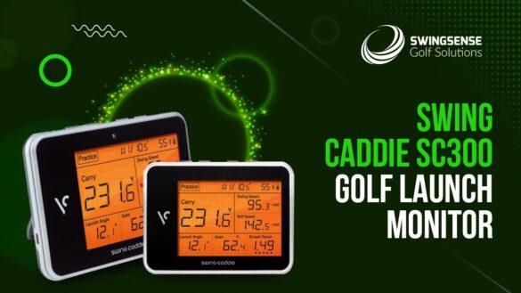 Swing Caddie SC300 Golf Launch Monitor