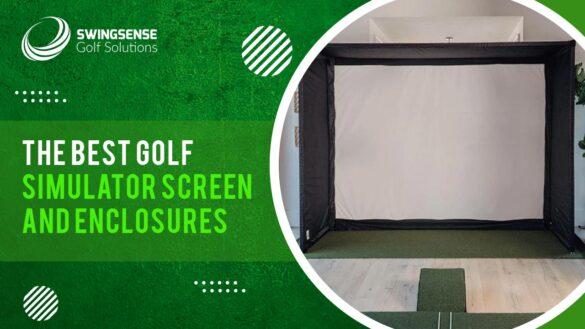 Best Golf Simulator Screen and Enclosure 2021