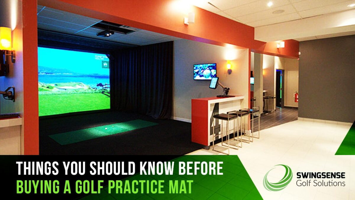 Things You Should Know Before Buying A Golf Practice Mat