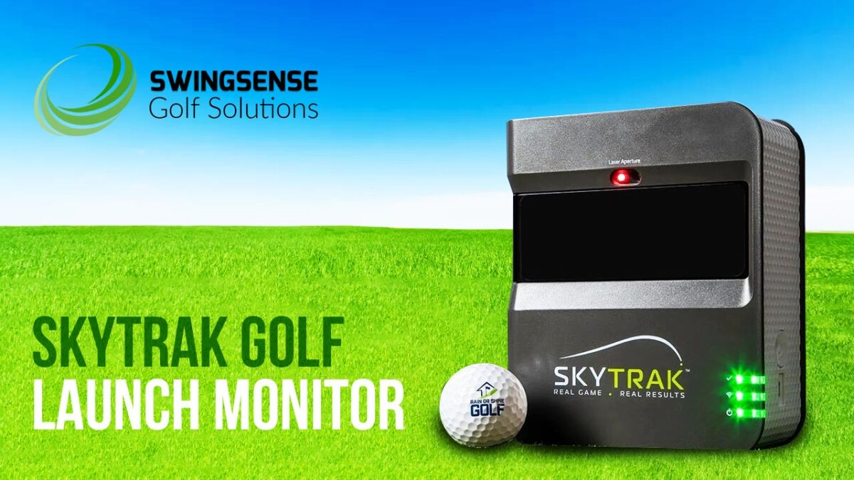 SkyTrak Golf Launch Monitor : The Best Golf Simulator for Your Indoor Golf System