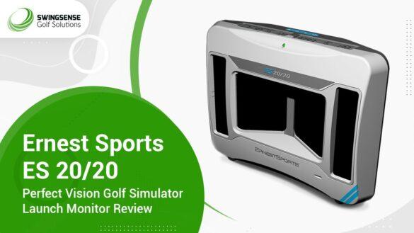 Ernest Sports ES 20/20 Perfect Vision Golf Simulator Launch Monitor