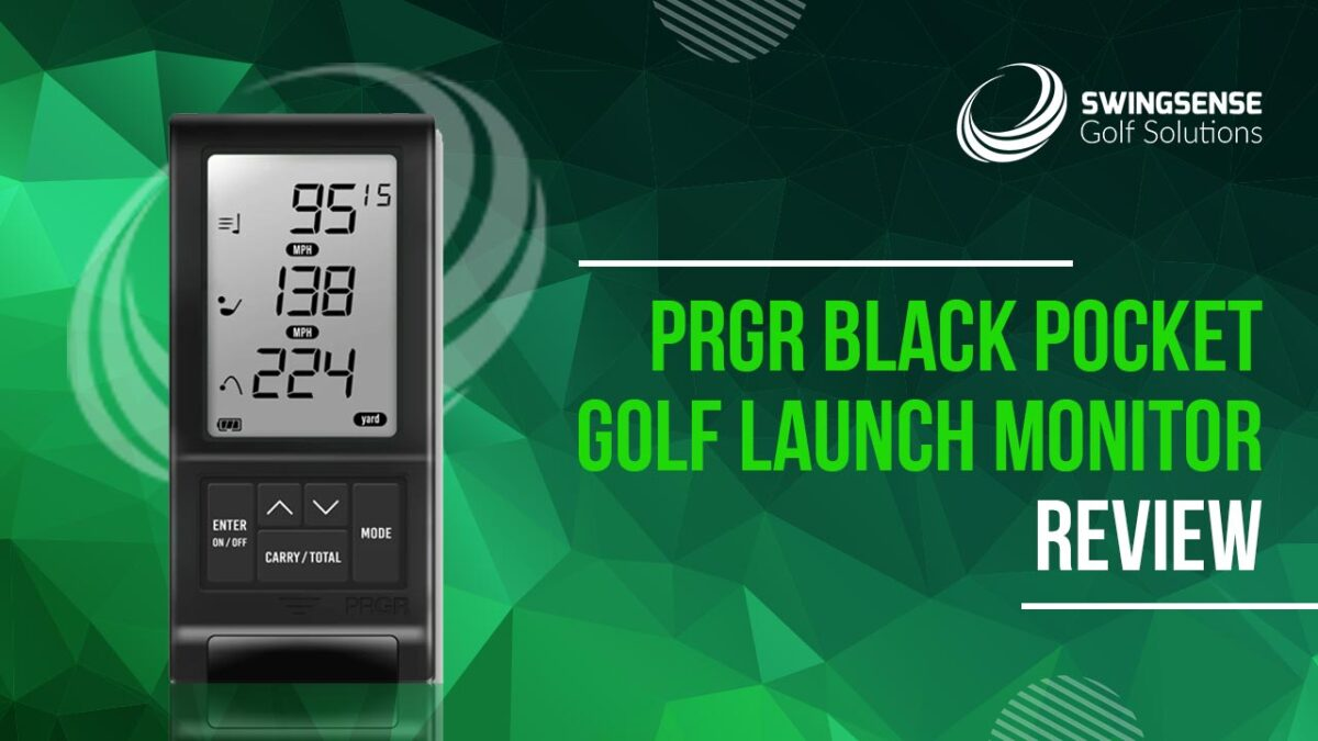 PRGR Black Pocket Golf Launch Monitor Review: The Premium-Quality Launch Monitor