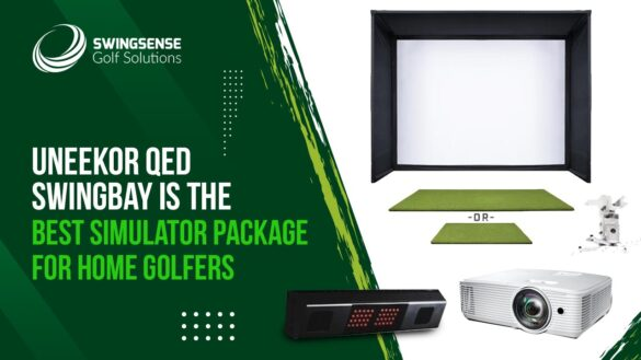 GOLF SIMULATOR REVIEW: UNEEKOR QED SWINGBAY