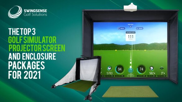 The Top 3 Golf Simulator Projector Screen And Enclosure Packages For 2021