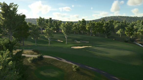 Old Town Golf Club Lidar