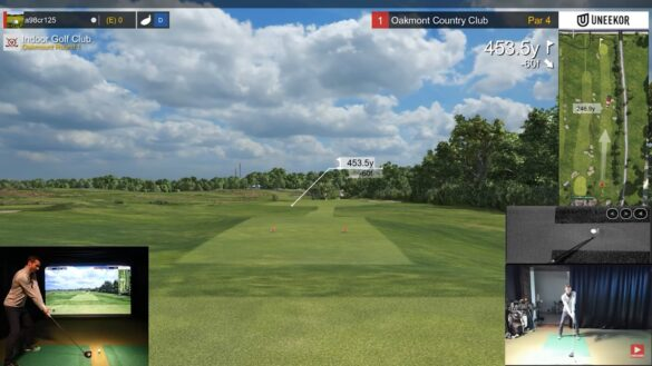 18 holes in 30 minutes - Golf Simulator Speed Round at Oakmont (E6)