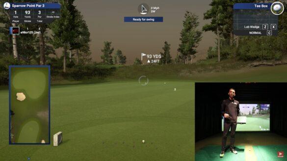 Golf Simulator Control Box Review for TGC 2019, OptiShot, E6 & More