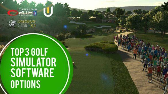 Top 3 Golf Simulator Software Options