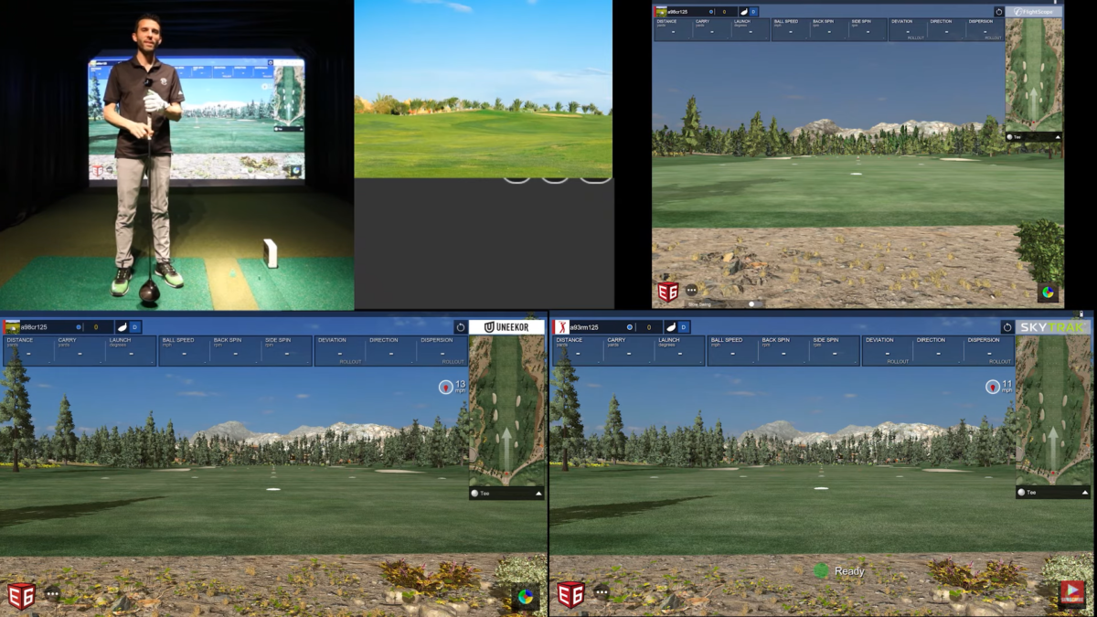SKYTRAK Golf vs Flightscope MEVO+ vs UNEEKOR QED – DRIVER REVIEW