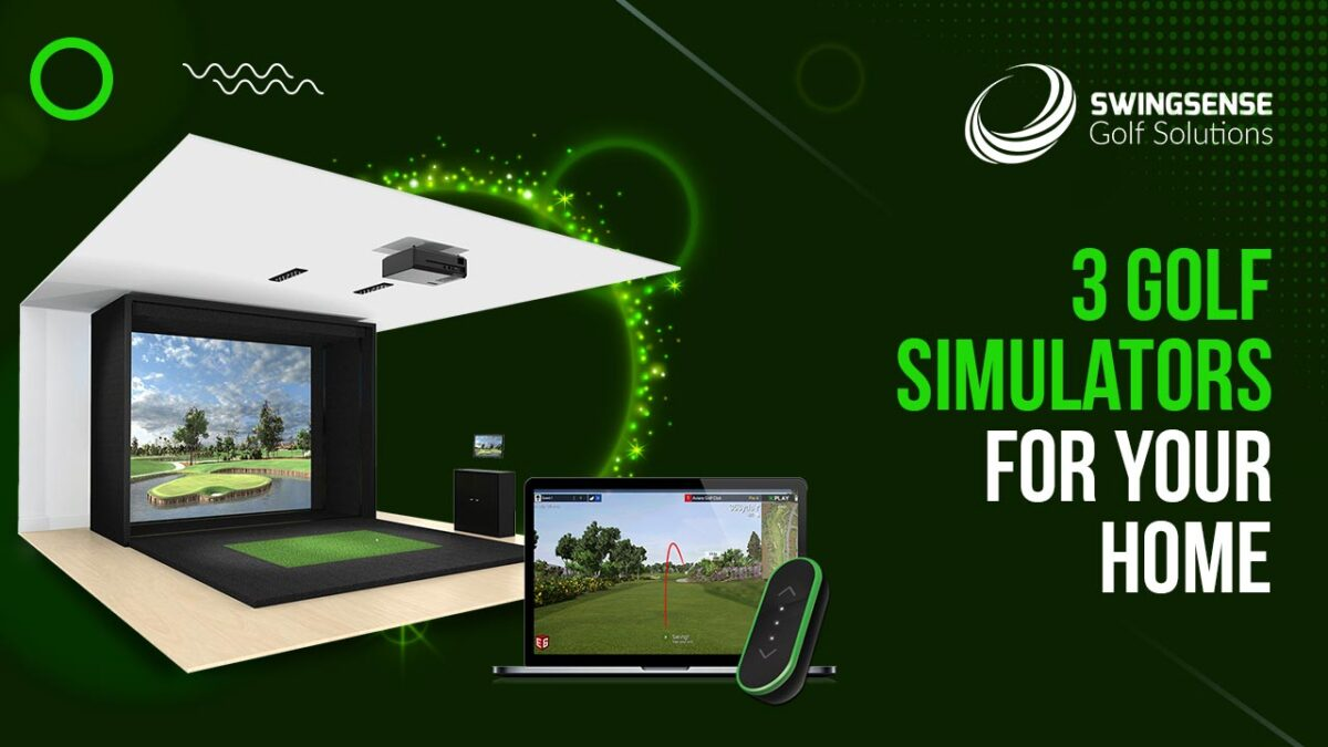 3 Golf Simulators For Your Home