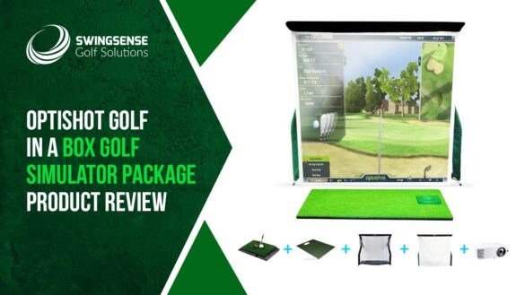 OptiShot Golf In A Box Golf Simulator Package Product Review: The One-stop Solution for Game Improvement
