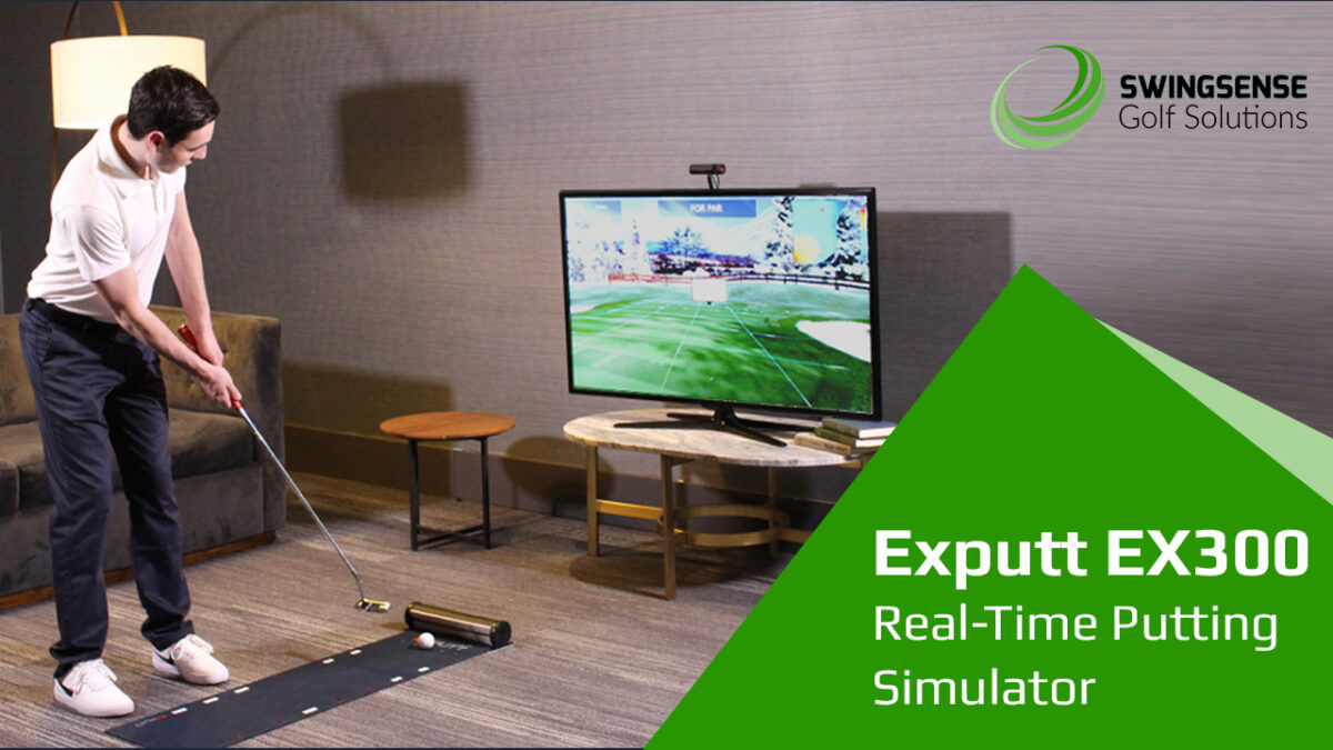 Exputt EX300 Real-Time Putting Simulator: The No.1 Putting Practice Aid