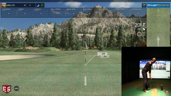 ES TOUR PLUS LAUNCH MONITOR - Chipping & Putting (E6 Connect)