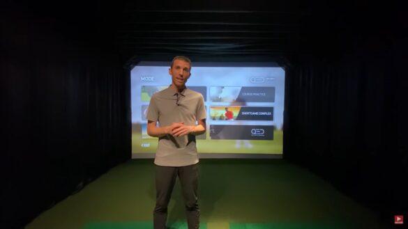 Home Golf Simulator Install - UNEEKOR