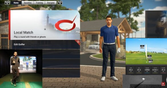 The Golf Club 2019 Best Courses - Kids Par 3 - UNEEKOR QED Golf Simulator
