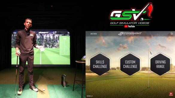 Foresight Sports GCQUAD - FSX Mobile Review vs FSX 2020 Golf Simulator Software