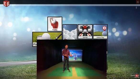 Golf Simulator Software Review - E6 Connect iPad vs PC - Which One to Choose