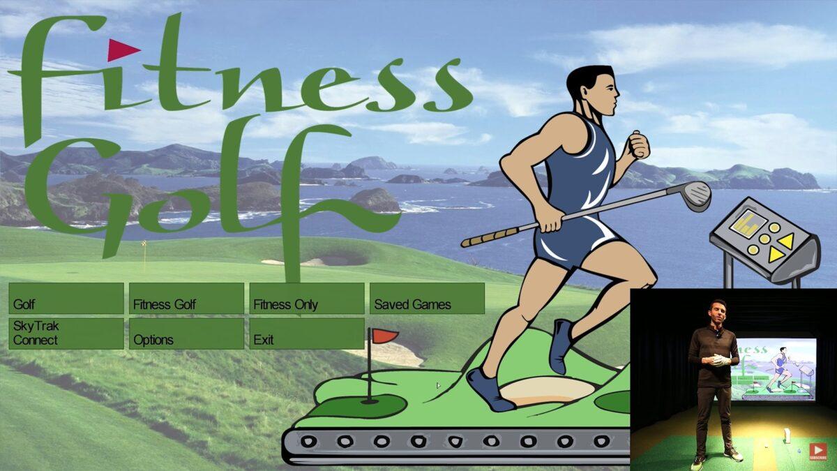 SKYTRAK – Fitness Golf Simulator Software (First Look & Review)