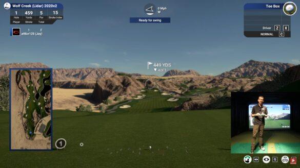 TGC 2019 with the UNEEKOR EYE XO Golf Launch Monitor