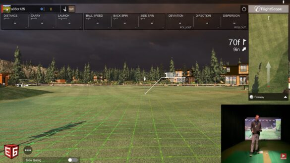 SQUARE STRIKE WEDGE - Golf Simulator REVIEW!