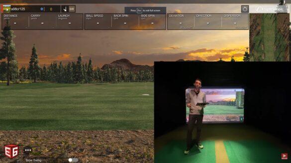 Almost Golf Balls Simulator Review Using Flightscope Mevo+