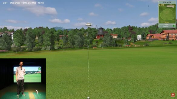 SKYTRAK Golf Launch Monitor Review - Using Creative Golf 3D (Golf Simulator)