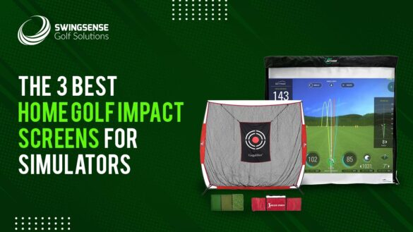 The 3 Best Home Golf Impact Screens For Simulators