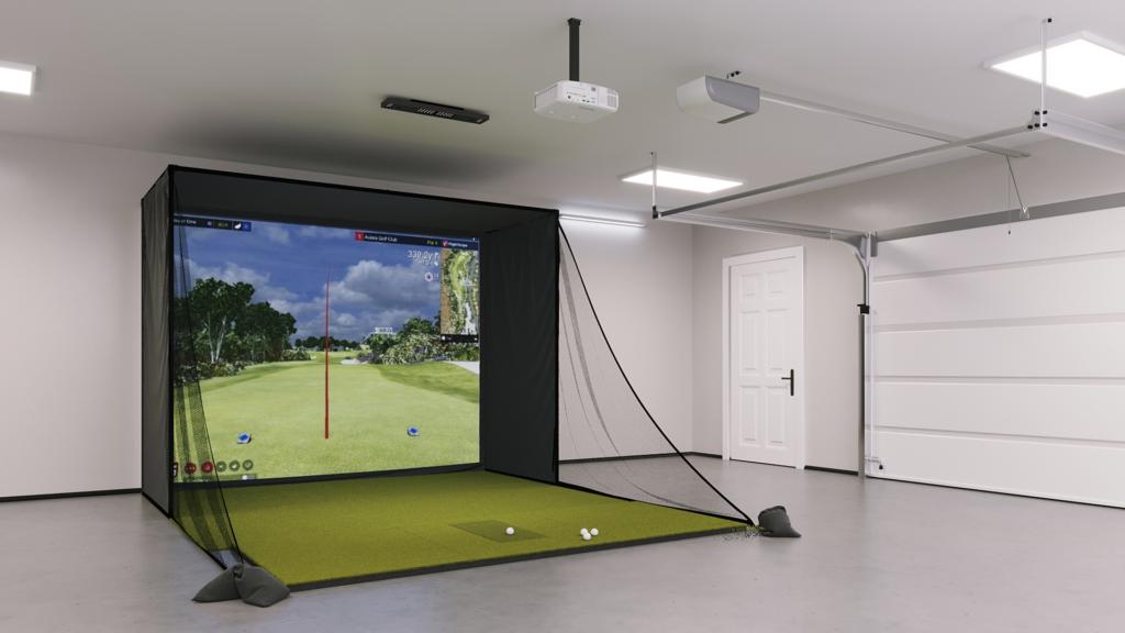 Uneekor EXEXO SIG10 Golf Simulator Package