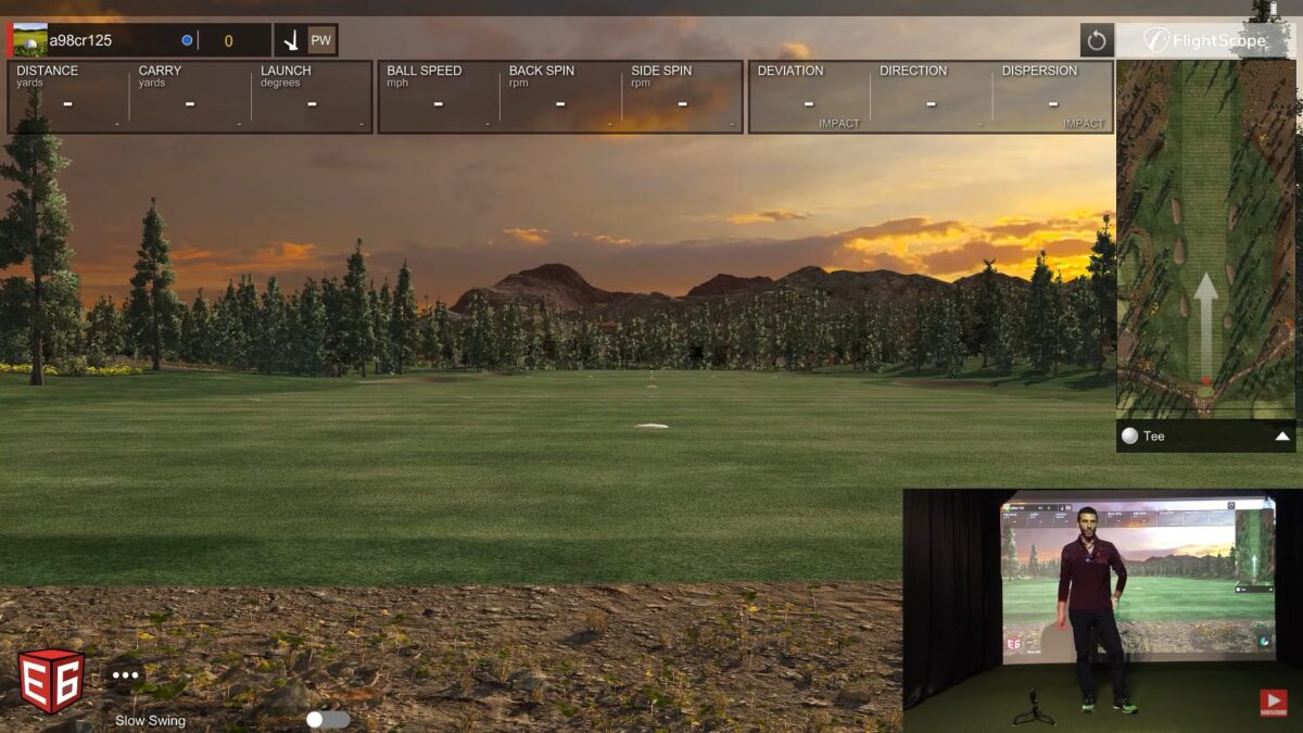 Shot Vision App Review – Golf Simulator Test vs Flightscope Mevo Plus