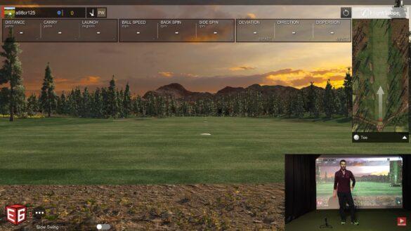 Shot Vision App Review - Golf Simulator Test vs Flightscope Mevo Plus