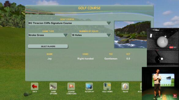 UNEEKOR EYE XO Golf Launch Monitor Playing Creative Golf 3D