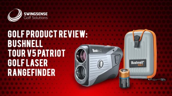 Bushnell Tour V5 Patriot Golf Laser Rangefinder