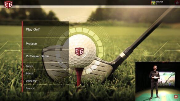 E6 Connect Golf Simulator Software