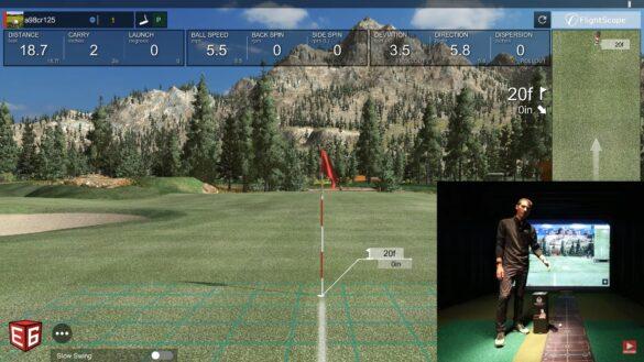Flightscope Mevo Plus Setup - Wellputt Putting Mat Review