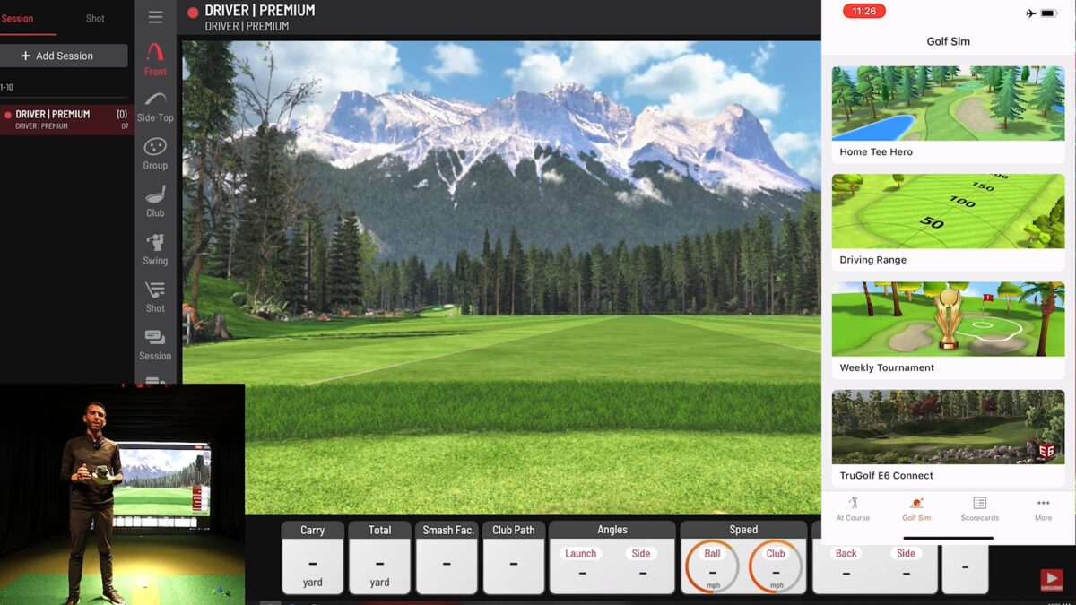 Garmin R10 – Golf Simulator Software Review (Playing Home Tee Hero)